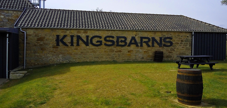 Die Kingsbarns Distillery: 2014 fertiggestellt.