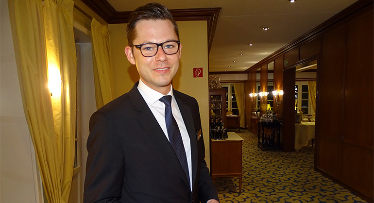 Sommelier Danny Thies.