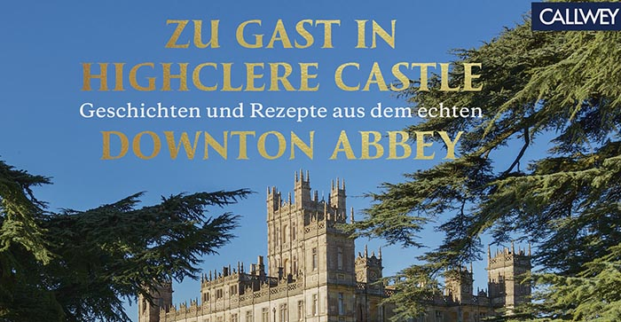 Cover des Zu Gast in Highclere Castle-Buches.