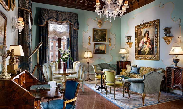 Suite im Gritti Palace: Opulenz...