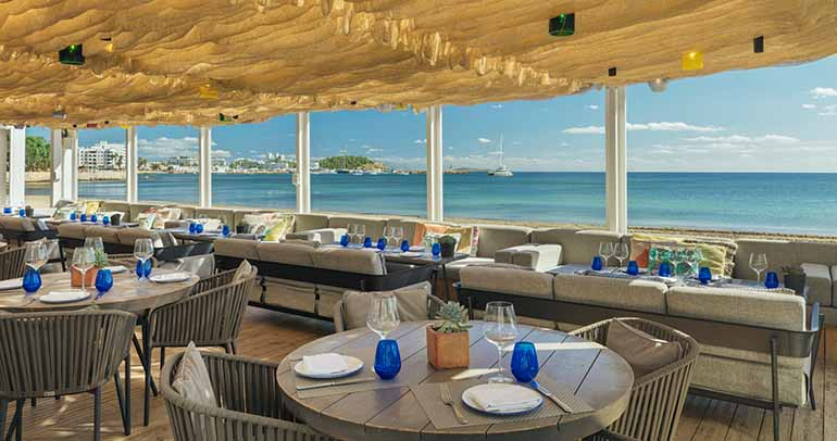 Restaurant Chiringuito Blue.