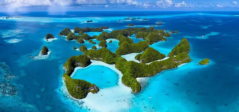 70 Islands, Palau by Filip Kulisev.