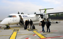 An Bord getestet: airBaltic